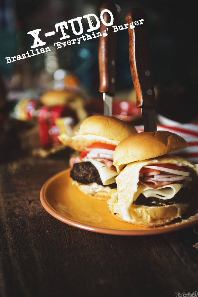 X-Tudo Brazilian Everything Burger | Kita Roberts GirlCarnivore.com