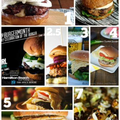 Burger Month Week Two Recipe Round Up