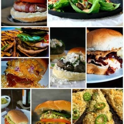 Burger Month Week Four Recipe Round Up