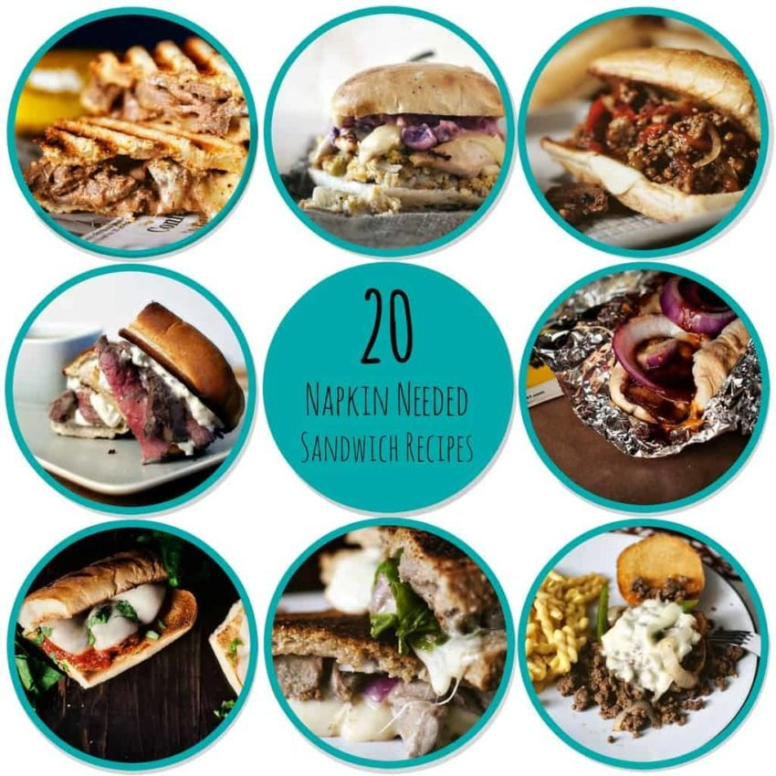 20 epic sandwich recipes from GirlCarnivore.com