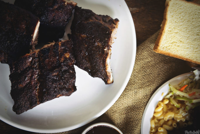 Brown Sugar-Rubbed Baby Back Ribs | Kita Roberts GirlCarnivore.com
