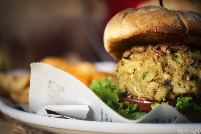 Maryland Crab Cakes made into a sandwich that you know you need to try!