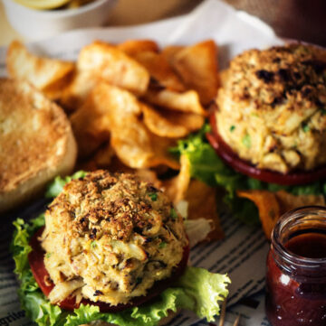 Maryland Crab Cakes Recipe | Kita Roberts GirlCarnivore.com