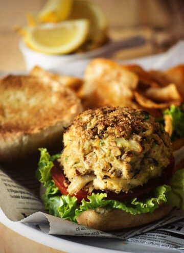 Maryland Crab Cakes Recipe | Kita Roberts GirlCarnivore.com