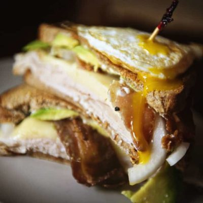 The Ultimate Grilled Turkey Sandwich