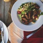 Poblano Sausage with Creamed Corn over Pasta | Kita Roberts GirCarnivore.com