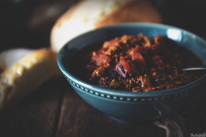 Slow Cooker Turkey Chili | Kita Roberts GirlCarnivore