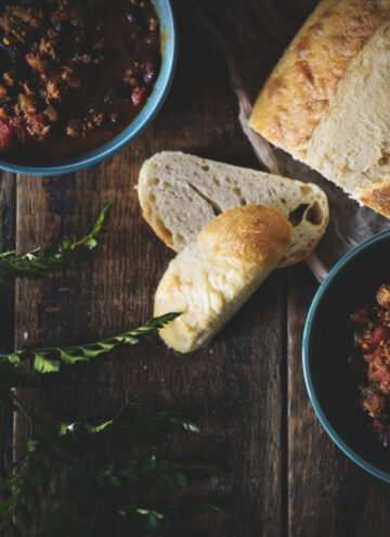 Slow Cooker Turkey Chili | Kita Roberts GirlCarnivore.com