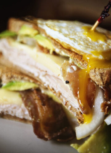 Ultimate Grilled Turkey Sandwich | Kita Roberts GirlCarnivore.com