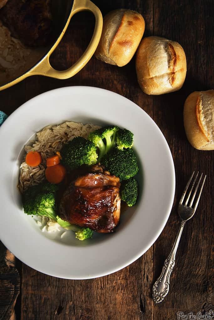 America Test Kitchen Mahogany Chicken Thighs