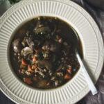 Beef and Barley Soup | Kita Roberts GirlCarnivore.com