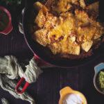 Chicken Enchilada Nachos   Kita Roberts GirlCarnivore