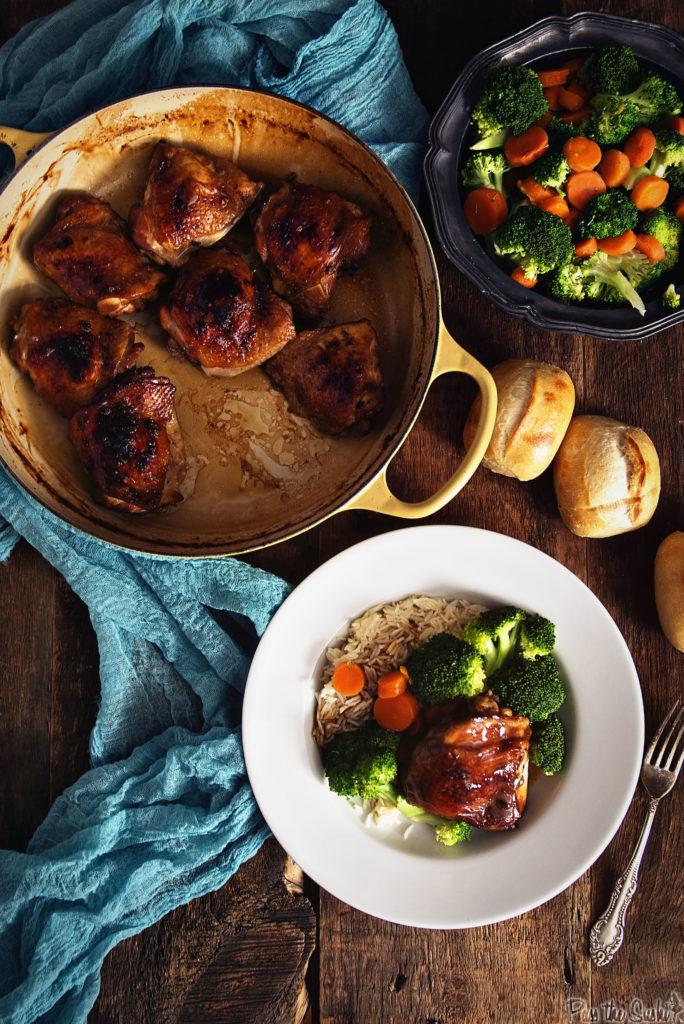 Mahogany Chicken Thighs | Kita Roberts GirlCarnivore.com