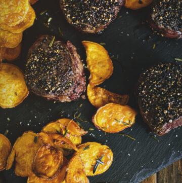 Peppercorn Crusted Filets | Kita Roberts GirlCarnivore