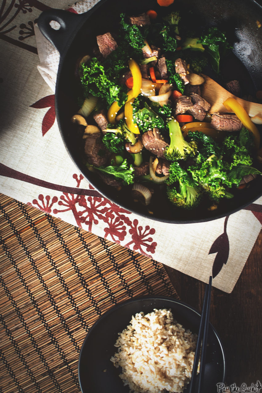 Steak and Broccoli Stir Fry | Kita Roberts GirlCarnivore.com