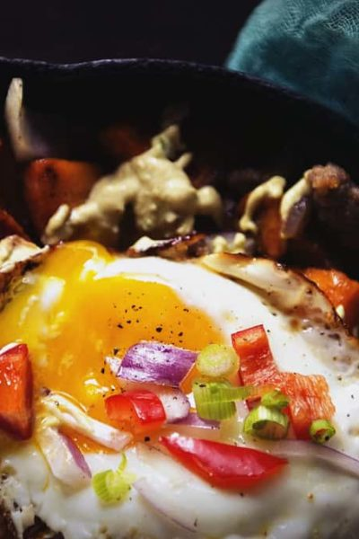 Sweet and Spicy Sausage Hash