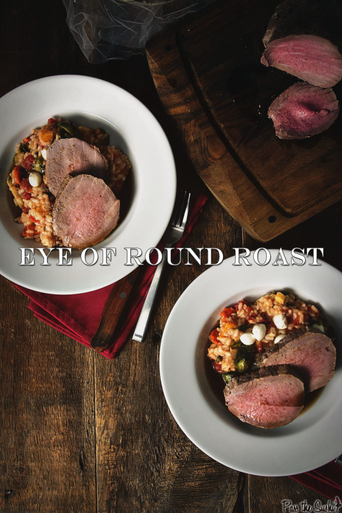 Perfect Eye of Round Roast Recipe GirlCarnivore.com