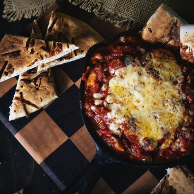 Slow Cooker Pizza Supreme Dip