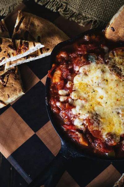 Slow Cooker Pizza Supreme Dip