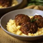 Rosemary-Smoked Meatballs | Kita Roberts GirlCarnivore.com