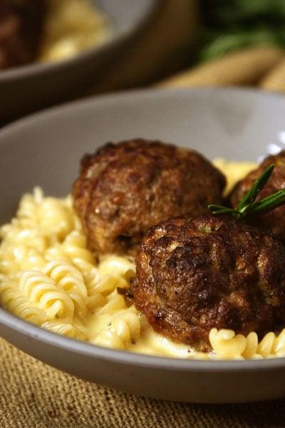 Rosemary-Smoked Meatballs   Kita Roberts GirlCarnivore.com