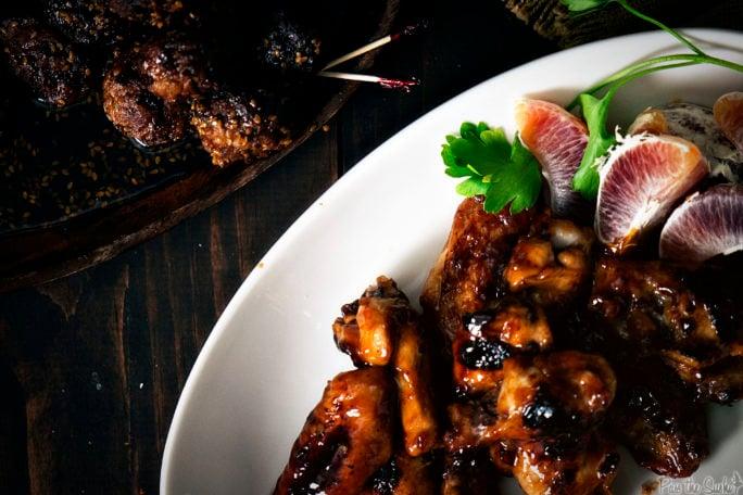 Sizzling Shanghai Wings | Kita Roberts GirlCarnivore.com