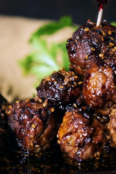 Slow Cooker Sesame Meatballs   Kita Roberts GirlCarnivore.com