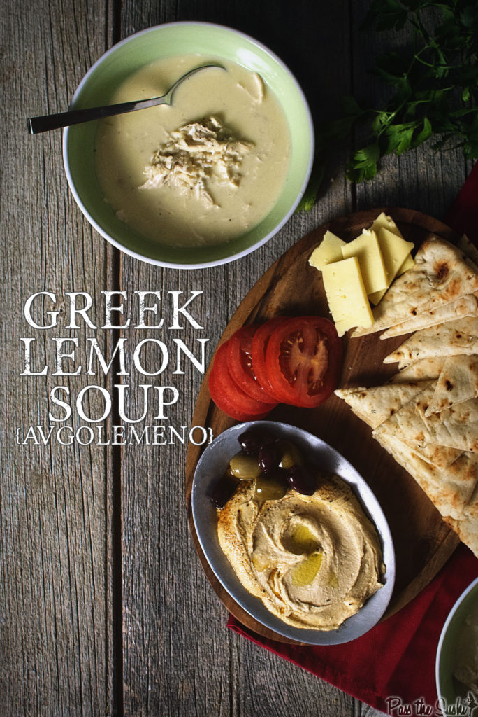 Greek Chicken and Egg-Lemon Soup | Kita Roberts GirlCarnivore.com