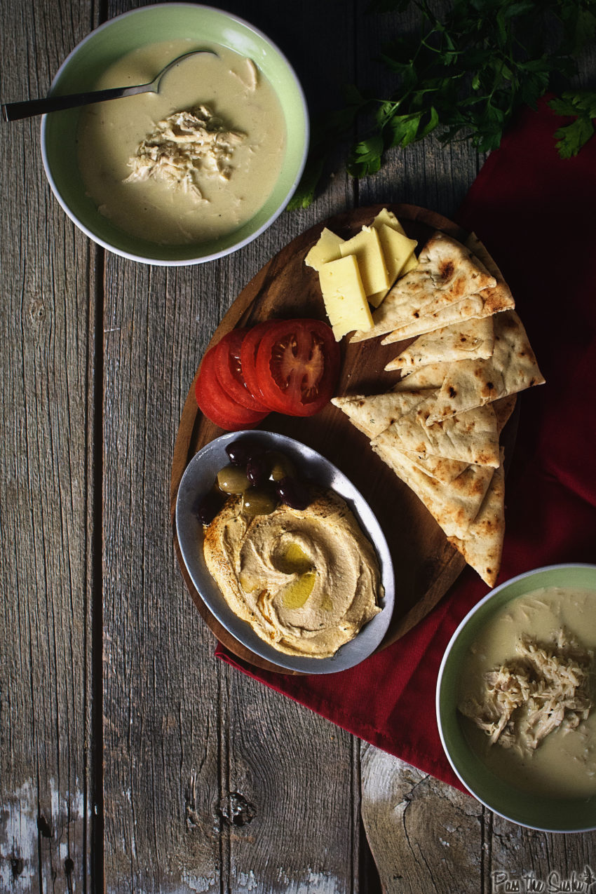 Greek Chicken and Egg-Lemon Soup   Kita Roberts GirlCarnivore.com