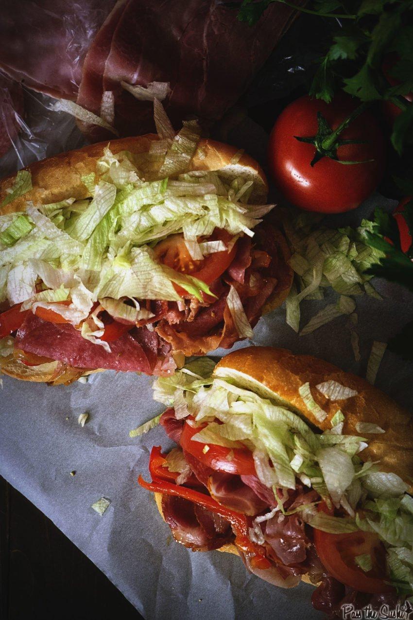 Grilled Italian Hoagies | Kita Roberts GirlCarnivore.com