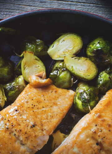 Maple Roasted Salmon | Kita Roberts GirlCarnivore.com