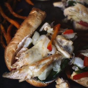 Chicken Cheesesteaks | Kita Roberts GirlCarnivore.com