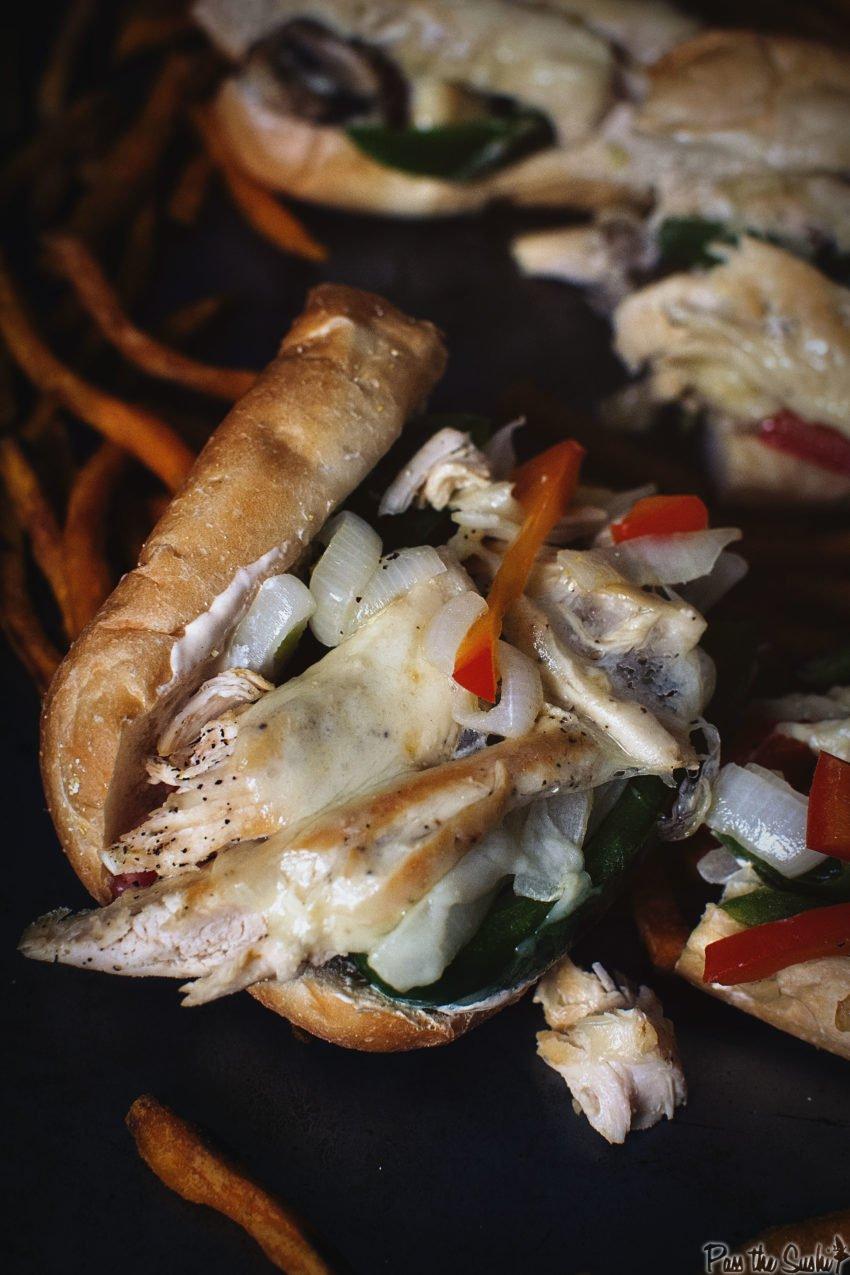 Chicken Cheesesteaks   Kita Roberts GirlCarnivore.com