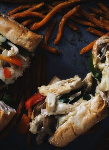 Chicken Cheesesteaks | Kita Roberts GirlCarnivore.com