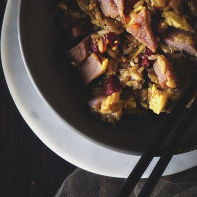 Ham Fried Rice | Kita Roberts GirlCarnivore.com