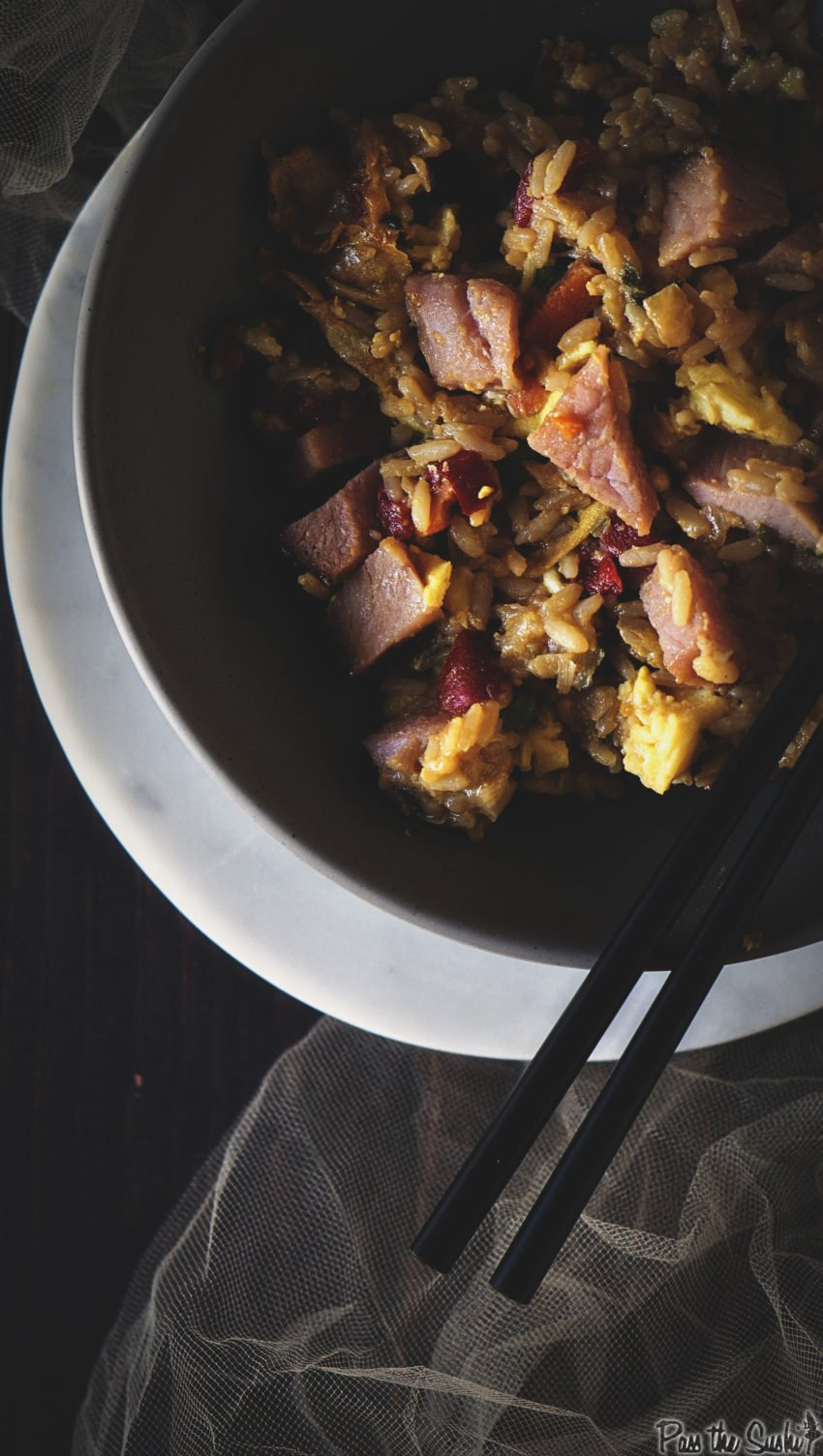 Ham Fried Rice | Kita Roberts GirlCarnivore.com
