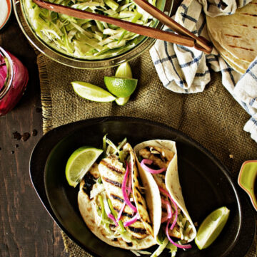 Baja Grilled Fish Tacos | Kita Roberts GirlCarnivore.com