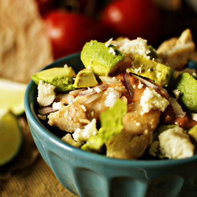 Salsa Chicken Bowls for Two | Kita Roberts GirlCarnivore.com