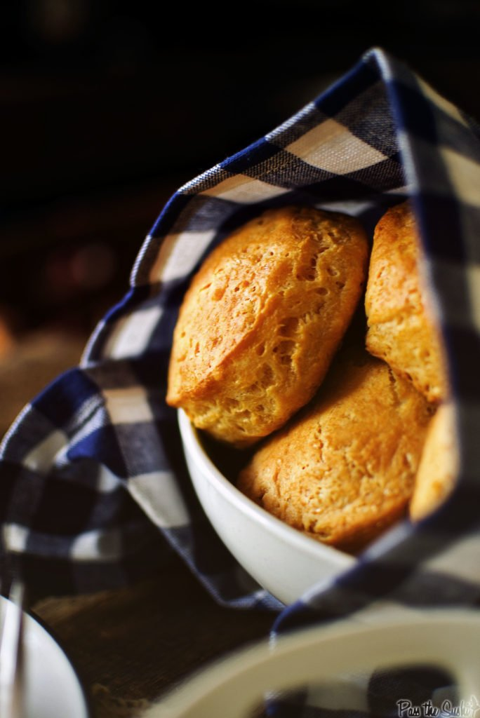 These corn muffins are absolutely perfect. Try one.