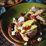 Weeknight Chicken Tostadas | Kita Roberts GirlCarnivore.com