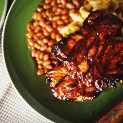 Perfect Smoked Thick Cut Pork Chops