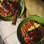 Perfect Smoked Thick Cut Pork Chops | Kita Roberts GirlCarnivore.com