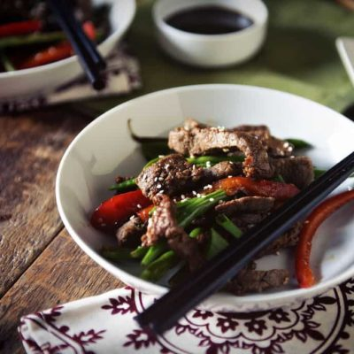 Sesame Steak Stir Fry