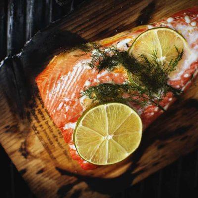 Cedar Smoked Salmon