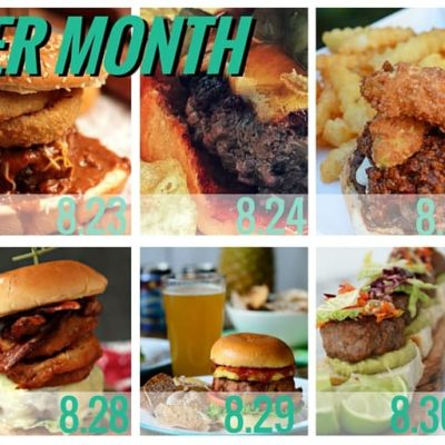 Burger Month Week 4 Recap