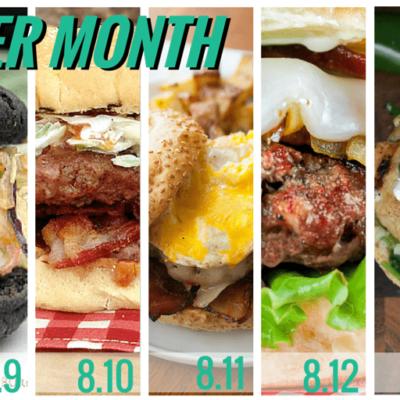 Burger Month Week Two Recap