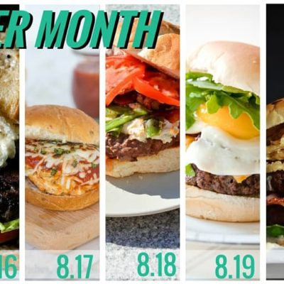 Burger Month Week 3 Recap