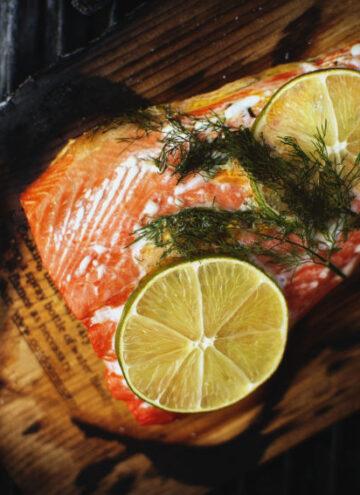 Cedar Smoked Salmon | Kita Roberts GirlCarnivore.com