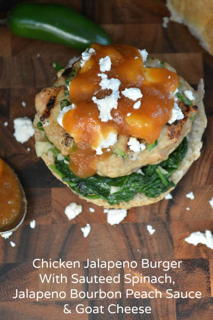 Chicken-Jalapeno-Burger-with-Wilted-Spinach-Bourbon-Peach-Sauce-t-681x1024
