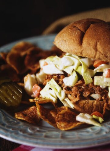Easy Slow Cooker Pulled Pork | Kita Roberts GirlCarnivore.com